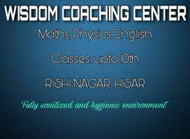 Physics, Maths, English Coaching