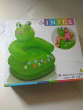 Green And Pink Plastic Toy Box