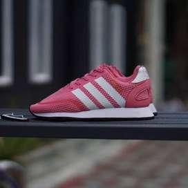 ORIGINAL sepatu adidas Iniki n5923 pink white anak kids BNWB