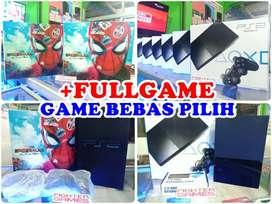 [NEW] PS2 MULTIFUNGSI (BISA HARDISK+BISA KASET) Playstation SONY PS 2