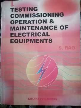 Testing Commissioning Operation & Maintainence of Electrical Equipment