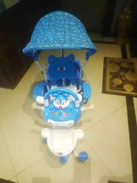 Mee mee premium blue kids tricycle
