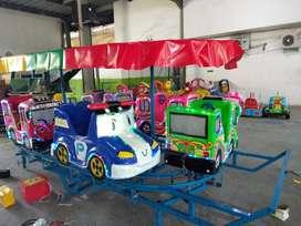 Pancingan odong robocar kereta mini panggung RAA