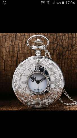 A fob pendant pocket watch for women.