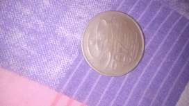 Australia coin 20 rupes