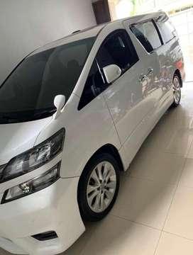 Toyota Vellfire Orisinil Plat H atas nama pribadi