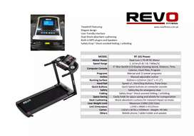 Revo treadmill  RT 101 Brand new Box pack Heavy duty For Home Use