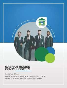 SAERAH HOMES GENTS HOSTELS AT ERNAKULAM WITH BEST RANKING