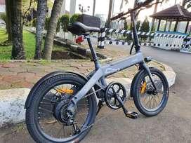 Sepeda Hybrid (gowes dan listrik) Himo C20