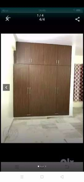 2 bhk semi furnished flat for working boys and girls and family.