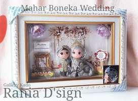 Mahar pernikahan boneka wedding custom