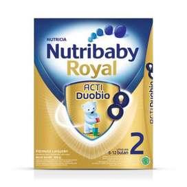 Dijual Susu Nutribaby Royal 2(6-12 bulan) Acti Duobio 800 gram, Murah