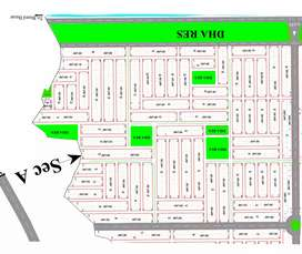 5 Marla Plot Available for Sale in Sector F DHA Peshawar