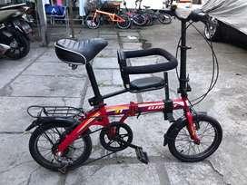 Sepeda Lipat Element Ring 16