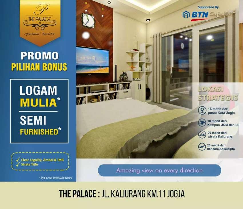 View Kota Jogja 0511 ! Apartemen The Palace Yogyakarta dekat UII 0