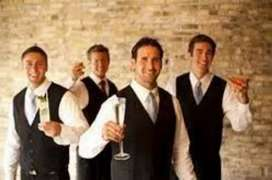 Waiter urgent requirement