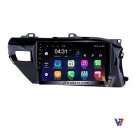 Toyota Hilux Vigo Android DVD player V7 GPS Navigation LCD Screen