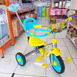 Sepeda Besi Anak Roda Tiga Terbaru