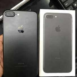 iPhone 7Plus 32gb Black Available with Bill Box Warranty & Accessories