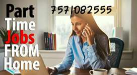 Hurry limited seats available for part time jobs