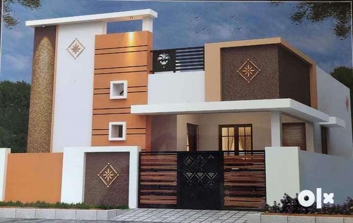 2 BHK Indépendant villa for sale at Sarjapura just 44 lacks only 0