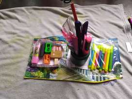 Handmade pencil stand with more features and fun to use