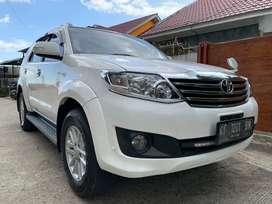 Toyota Fortuner G Bensin Matic Tahun 2013 Pemakaian 2014