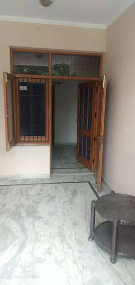 Available 10 Marla plot sector 69 Mohali 2 room built