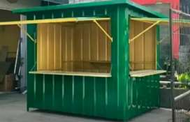 BOOTH SEMI CONTAINER / BOOTH ANGKRINGAN / CONTAINER FOODCOURT
