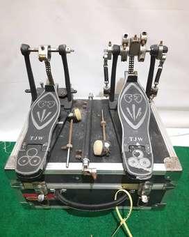 Double pedal TJW replika cobra lengkap hardcase