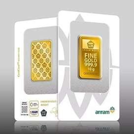 Emas Antam 10gr edisi 2020 certicard