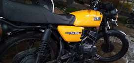 YAMAHA RX100 FRESH CONDITION.