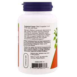 Now Foods, Silymarin, Milk Thistle Extract Turmeric Liver Ginjal