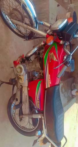 Honda CG 125,, model 12/13..Red colour.urgent sale