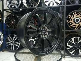 Velg Mobil Xpander, Innova dll Ring 17 Lebar 7,5 HSR HIROHIMA Black