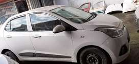 Hyundai xcent TAXI white in good condition