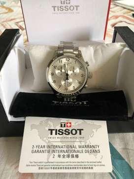 Unused Tissot Swiss made Wrist Watch with International Warranty Card