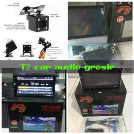 Termurah om dvd 2din F8 android link led 7inc+camera hd grosir sby