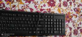 Keyboard hp and hp mouse and wifi adapter
