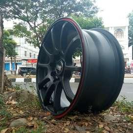 Pelek Mobil Brio Agya Ayla R15 Racing HSR Bisa Kredit Harga Termurah