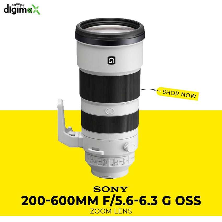 Sony 200-600 G OSS box Packed