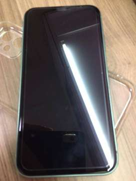 Brand new I phone 11 64 GB green and under warranty