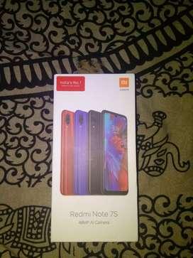 Brand new sealpack Redmi Note 7S..48+5 DUAL CAMERA