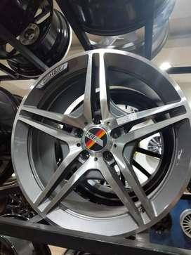 VELg racing ring18×8,5 SL63 HSRwheel Pcd 5×112 Venice Medan cicilan 0%