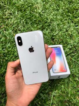 iphone x 64gb fullset mulus nominus