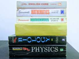 Class XII NCERT Guide Bundle (Phy-Chem-Bio-Math-Eng): Used