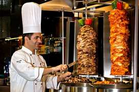 Cook for shawarma and Alfahm