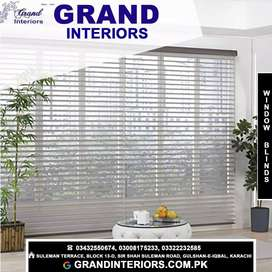 Curtains and blinds makers by Grand interiors