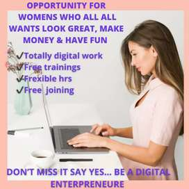 Work from home only ladies