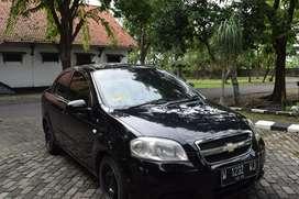 Sedan Chevrolete Lova Hitam 2012 pajak baru & cat baru full body